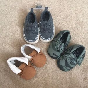 Other - Bundle of 3 Baby Shoes